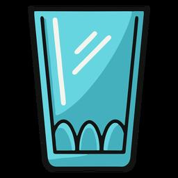 Ilustración de vaso para beber