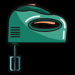 Electric mixer illustration