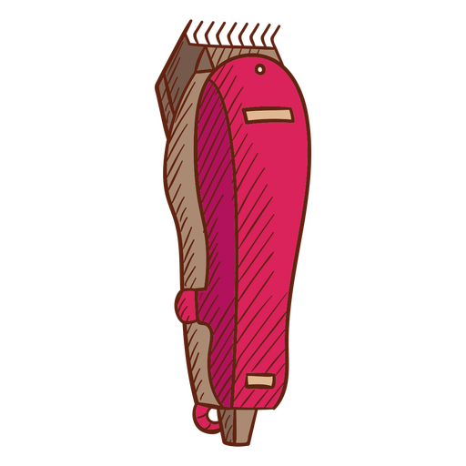 Electric shaver illustration
