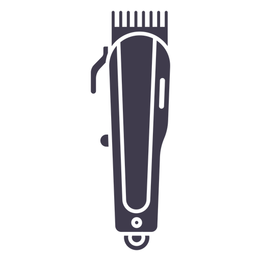 Electric shaver silhouette