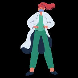 Ginger doctor heroína personaje