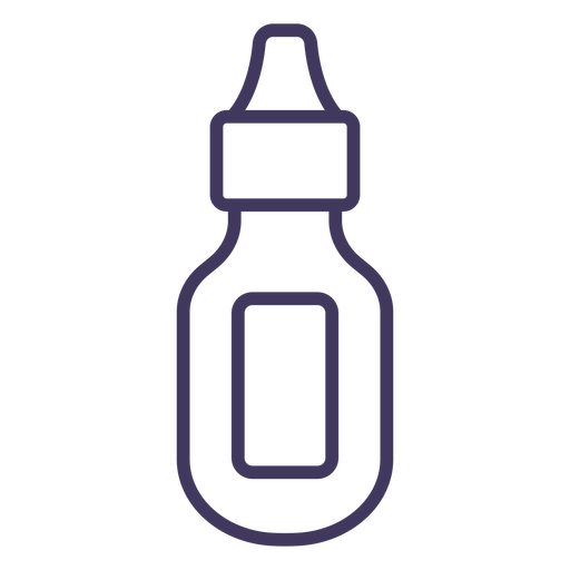 Hair ink container icon Transparent PNG