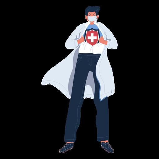 Hero doctor character