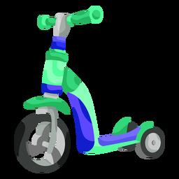 Ilustración de triciclo de niño