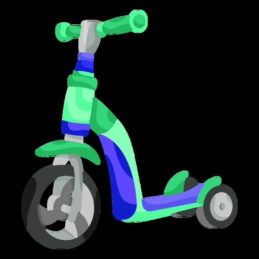 Ilustración de triciclo para niños