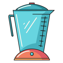 Ilustración de licuadora de cocina