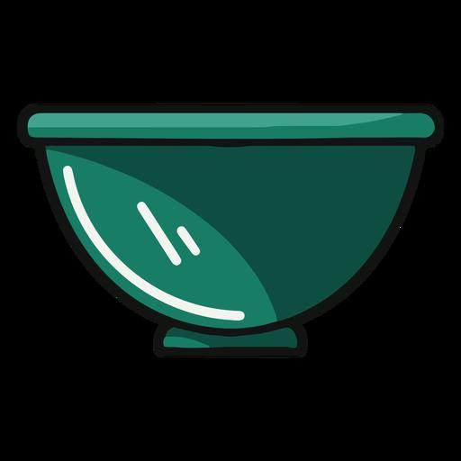Kitchen bowl illustration