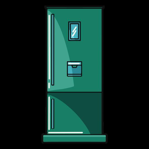 Kitchen fridge illustration