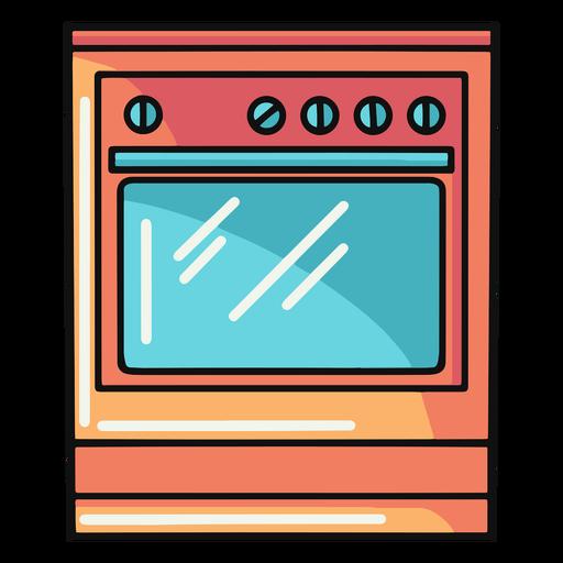 Kitchen oven illustration