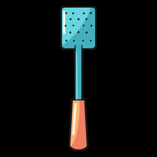 Kitchen spatula skimmer illustration