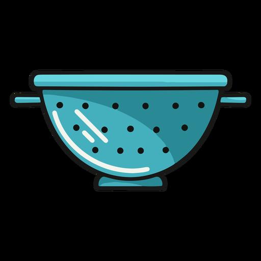 Kitchen strainer illustration