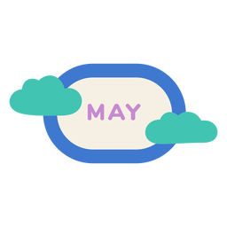 May cloud label