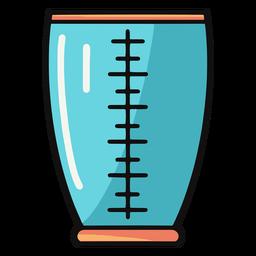 Ilustración de jarrón de medición