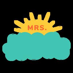 Sra professor nome nuvem etiqueta