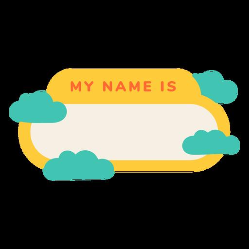 Mi nombre es etiqueta turbia