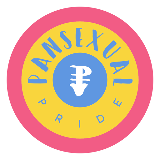 Distintivo de orgulho pansexual Transparent PNG