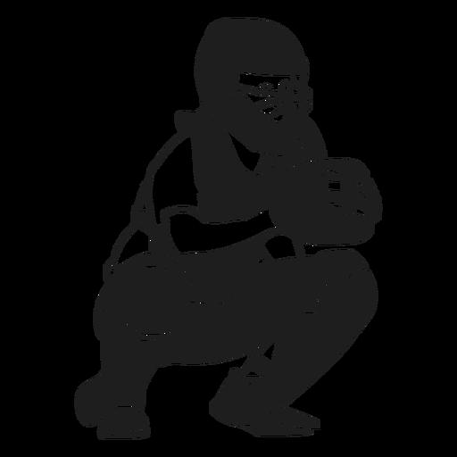Pitcher ready black