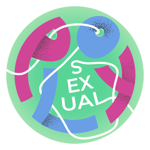 Distintivo de orgulho polissexual