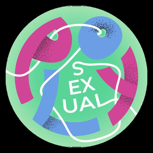 Insignia de orgullo polisexual Transparent PNG