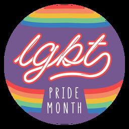 Distintivo do mês do orgulho