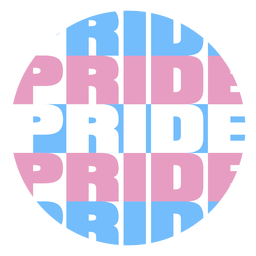 Distintivo colorido de orgulho
