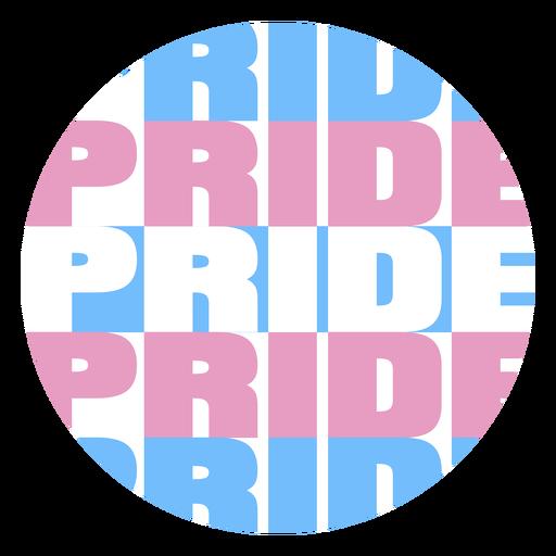 Pride colored badge
