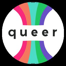 Insignia de orgullo queer