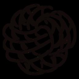 Doodle de bola de corda