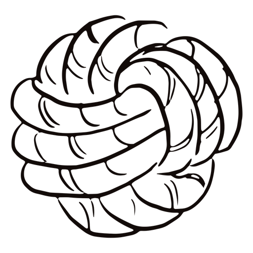 Rope ball doodle