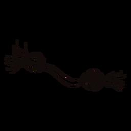Cuerda masticar doodle de juguete para mascotas
