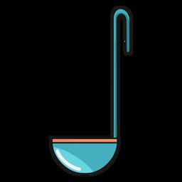 Ilustración de cuchara para servir