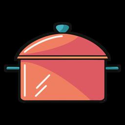 Soup pot illustration
