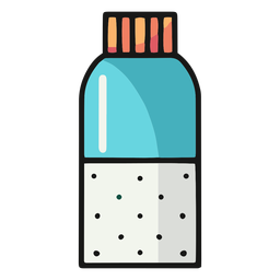 Spice container illustration