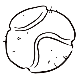 Tennis ball doodle