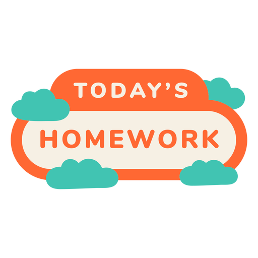Etiqueta de tarea de hoy
