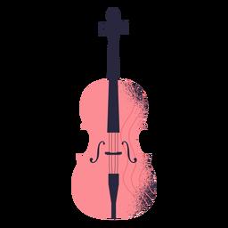 Ilustração de instrumento de violino