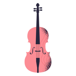 Violin instrument illustration