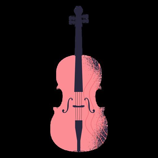 Ilustración de instrumento de violín