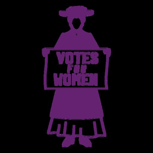 Votar em mulheres planas Transparent PNG