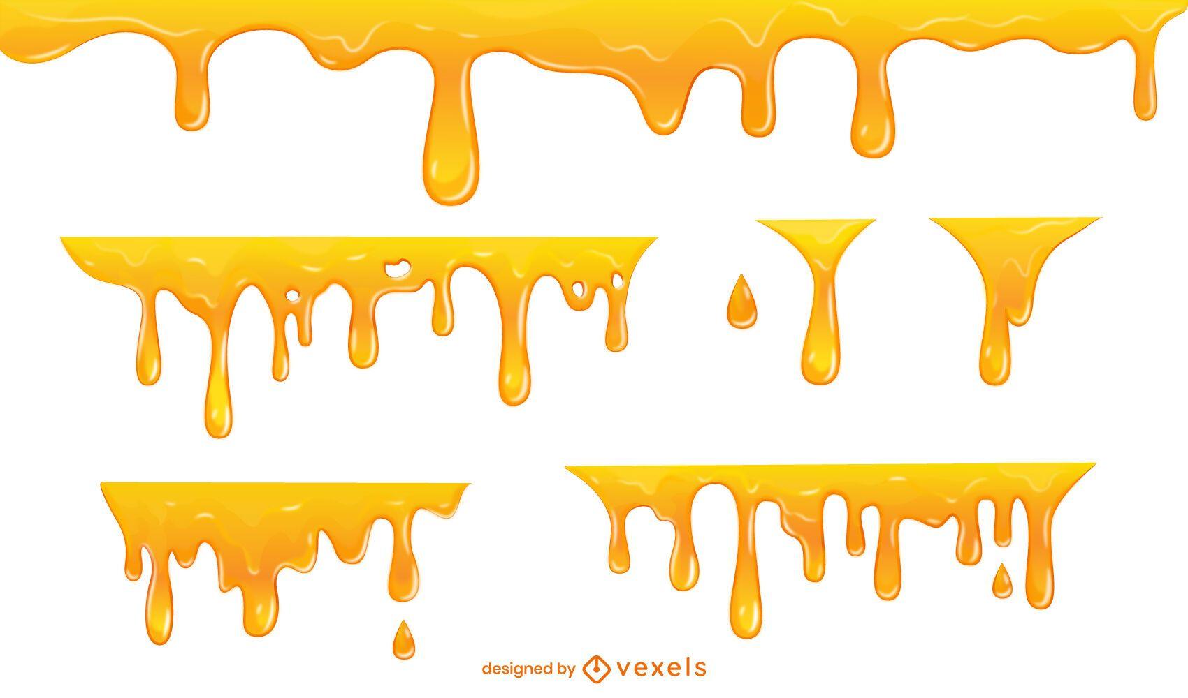 Honey Drip Frame Set