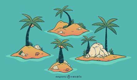 Insel Illustration Design Pack