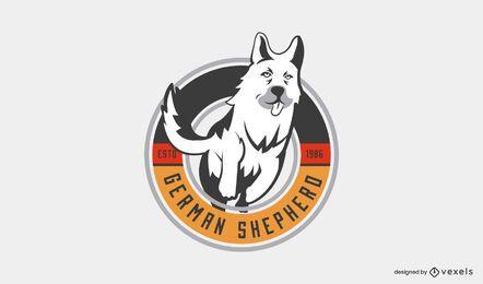 Logo-Vorlage des Deutschen Schäferhundes