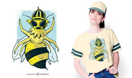 Queen Bee T-shirt Design