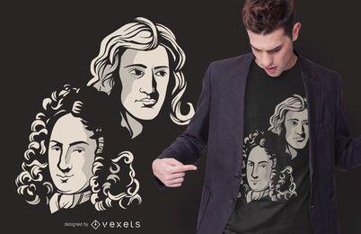 Diseño de camiseta de Creadores de Cálculo