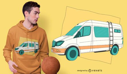 Mercedes sprinter t-shirt design