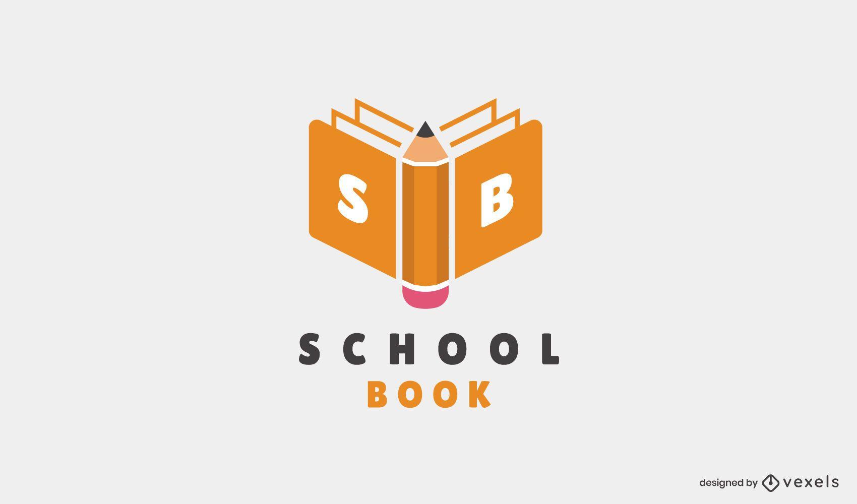 Diseño de Logo de Escuela Educativa