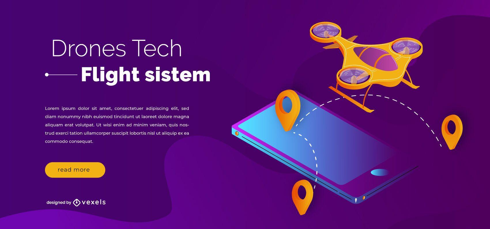 Diseño de control deslizante de tecnología de drones