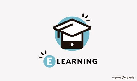 E learning logo design