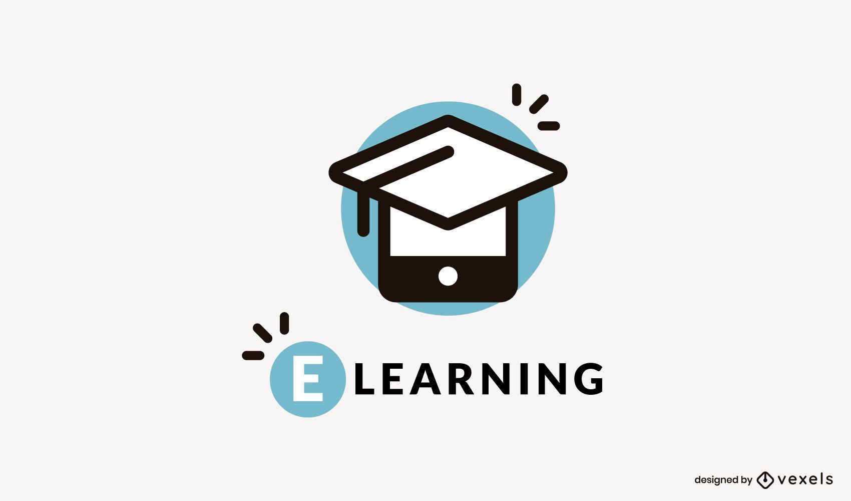 Diseño de logo de e learning