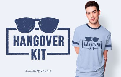 Hangover kit t-shirt design